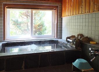 不思議草のお風呂