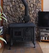 不思議草のプレイルーム(暖炉)
