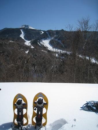 スキー場風景