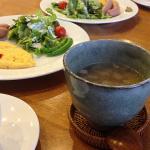 150118朝ご飯の野菜スープ