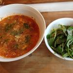 150330トマトスープのチーズリゾット風