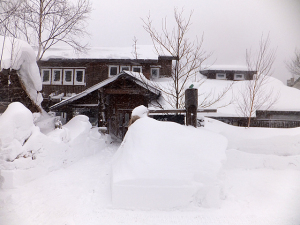 150214看板除雪前